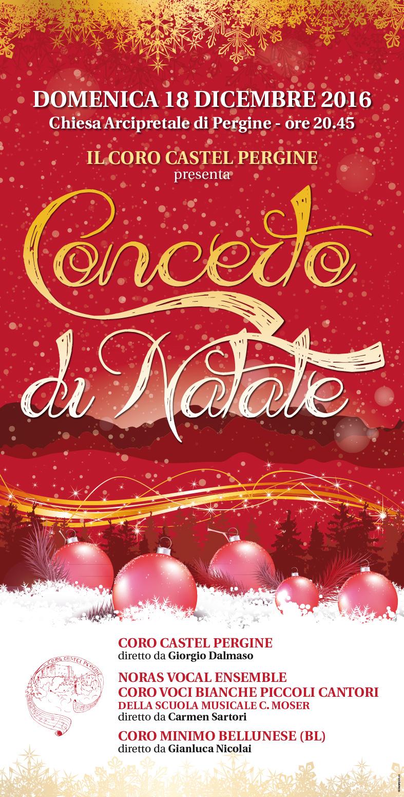 Concerto Di Natale.Concerti Di Natale Coro Castel Pergine